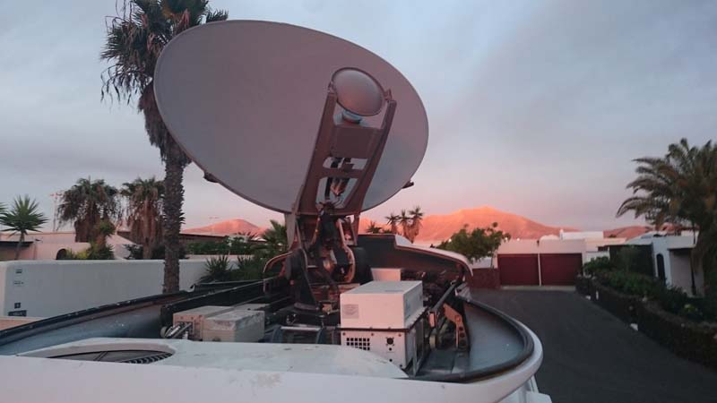 Insular Video Antena satelital